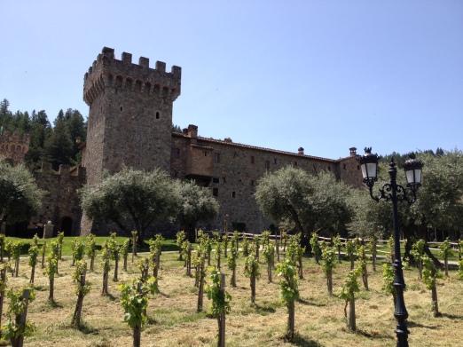 Castello di Amarosa - drink wine in a castle?  Yes, please.