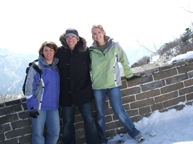 Amy JT Amy at Great Wall
