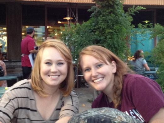Jessie and Lisa - 2012