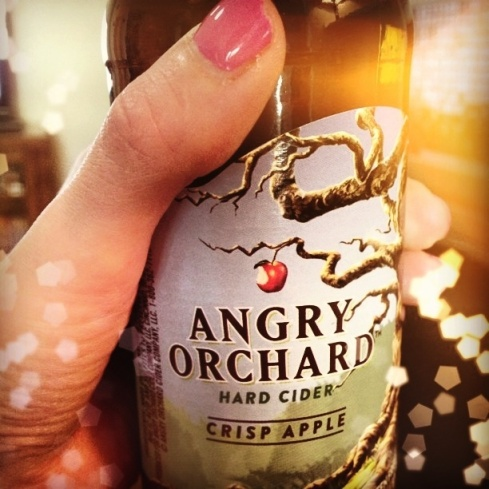 "Nothing says ""Friday night"" like a little hard cider."