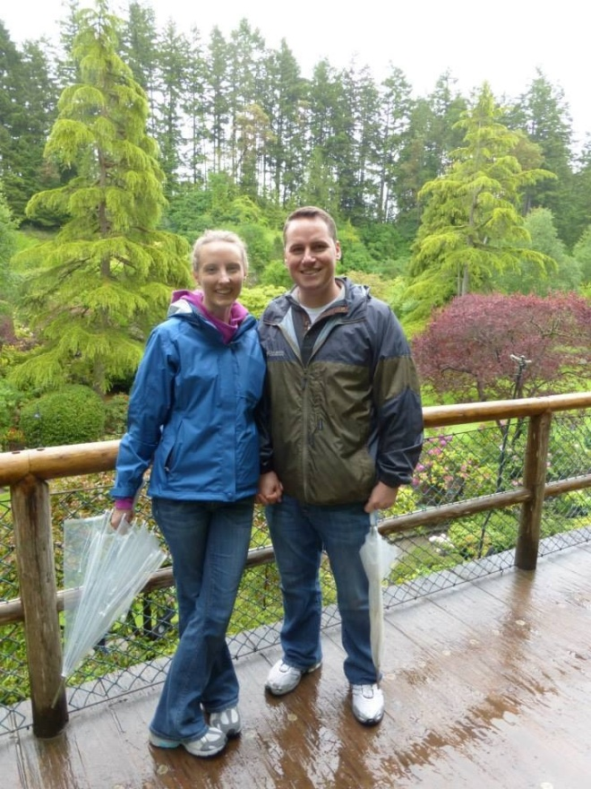 Day 4 - At the Butchart Gardens