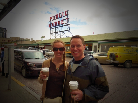 Day 8 - Seattle outside original Starbucks