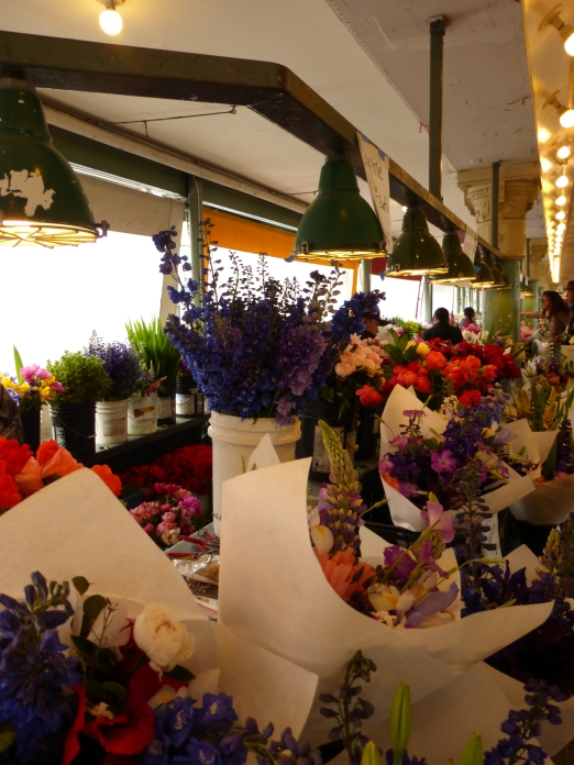 Day 8 - Seattle Pike's Place Market flowers