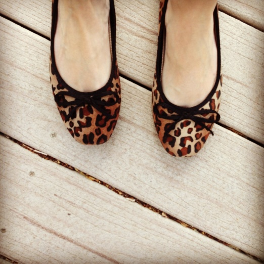 Leopards - making it fashionably acceptable to mix black and brown since forever.