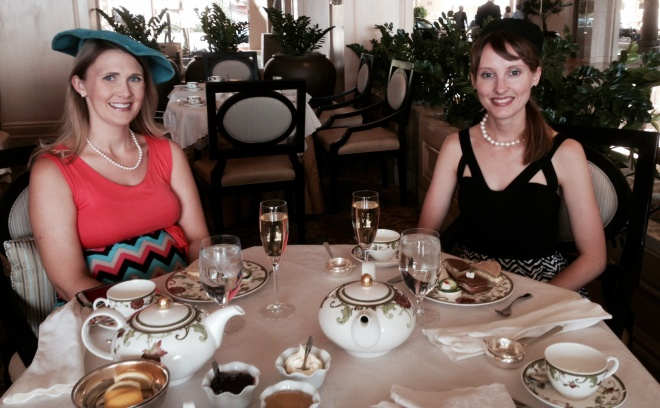 Tea with Joy at the Phoenician - 4/25/2014.